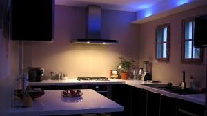 eclairage de cuisine