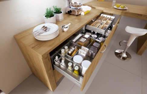 Tendances cuisine 2013 am nagement cuisine cuisine meuble for Comcuisine petits espaces