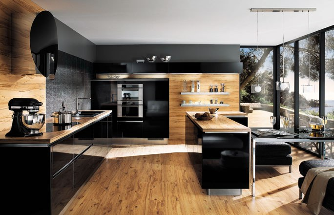 Un am nagement de cuisine r ussi mobilier moderne - Amenagement cellier cuisine ...