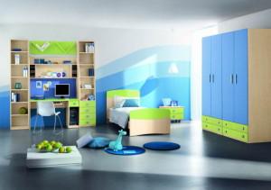chambre d'enfants moderne