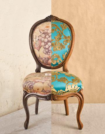fauteuil restoré