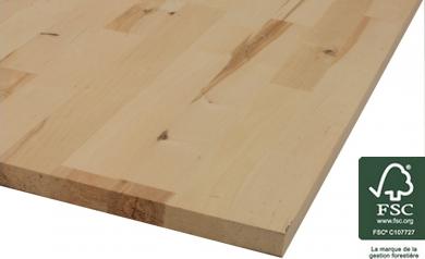 Panneau en bois de bouleau
