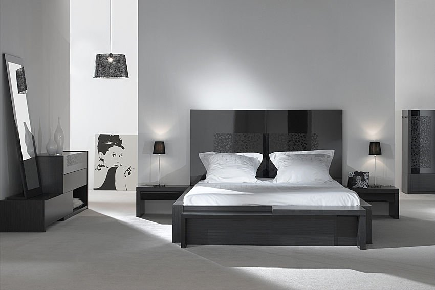 des t tes de lit faire tourner les t tes mobilier moderne. Black Bedroom Furniture Sets. Home Design Ideas