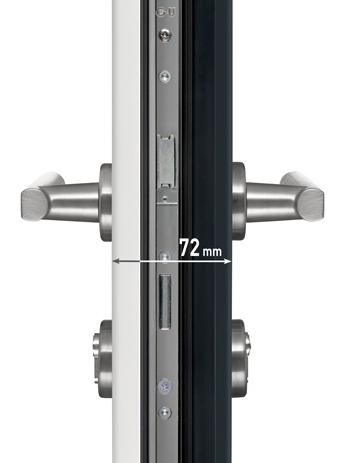 Exemple d'ouvrant monobloc en alu de 72 mm, trouvé sur http://www.maporteamoi.fr