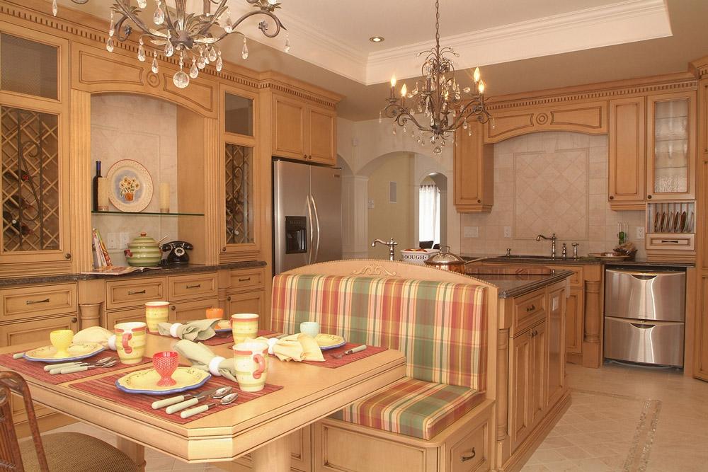 Id e d coration cuisine champ tre for Armoire de cuisine style champetre