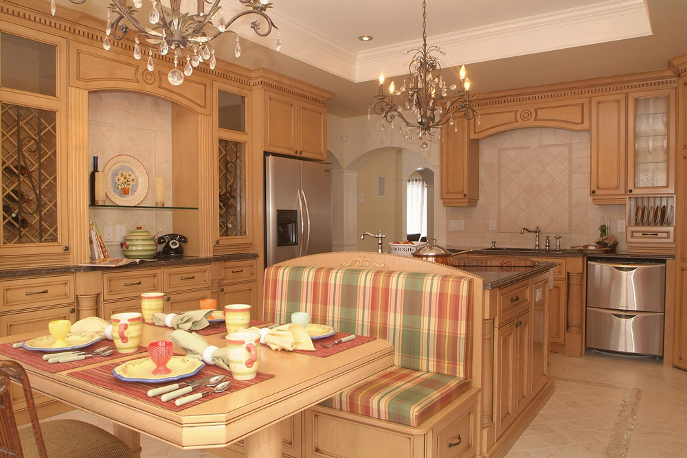id e d coration cuisine champ tre. Black Bedroom Furniture Sets. Home Design Ideas