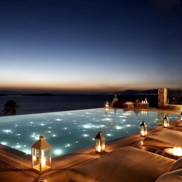 piscine decor oriental