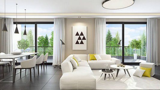 beautiful comment decorer un salon moderne ideas matkin info - Comment Decorer Un Salon Moderne
