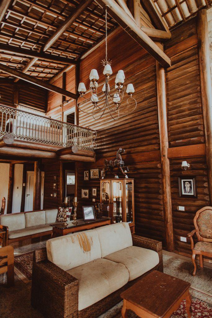 décoration chalet typique bois